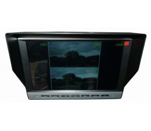 RETRO-550Q - Moniteur 4 caméras spécial poids-lourds