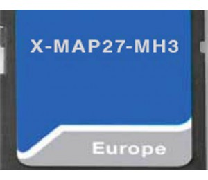 X-MAP27-MH1 - Cartographie GPS camping-car pour Xzent X-F270
