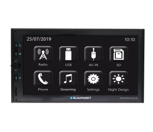 Amsterdam 290 BT - Autoradio 2 DIN MirrorLink