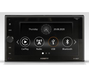 X-227 - Autoradio 2 DIN CarPlay AndroidLink